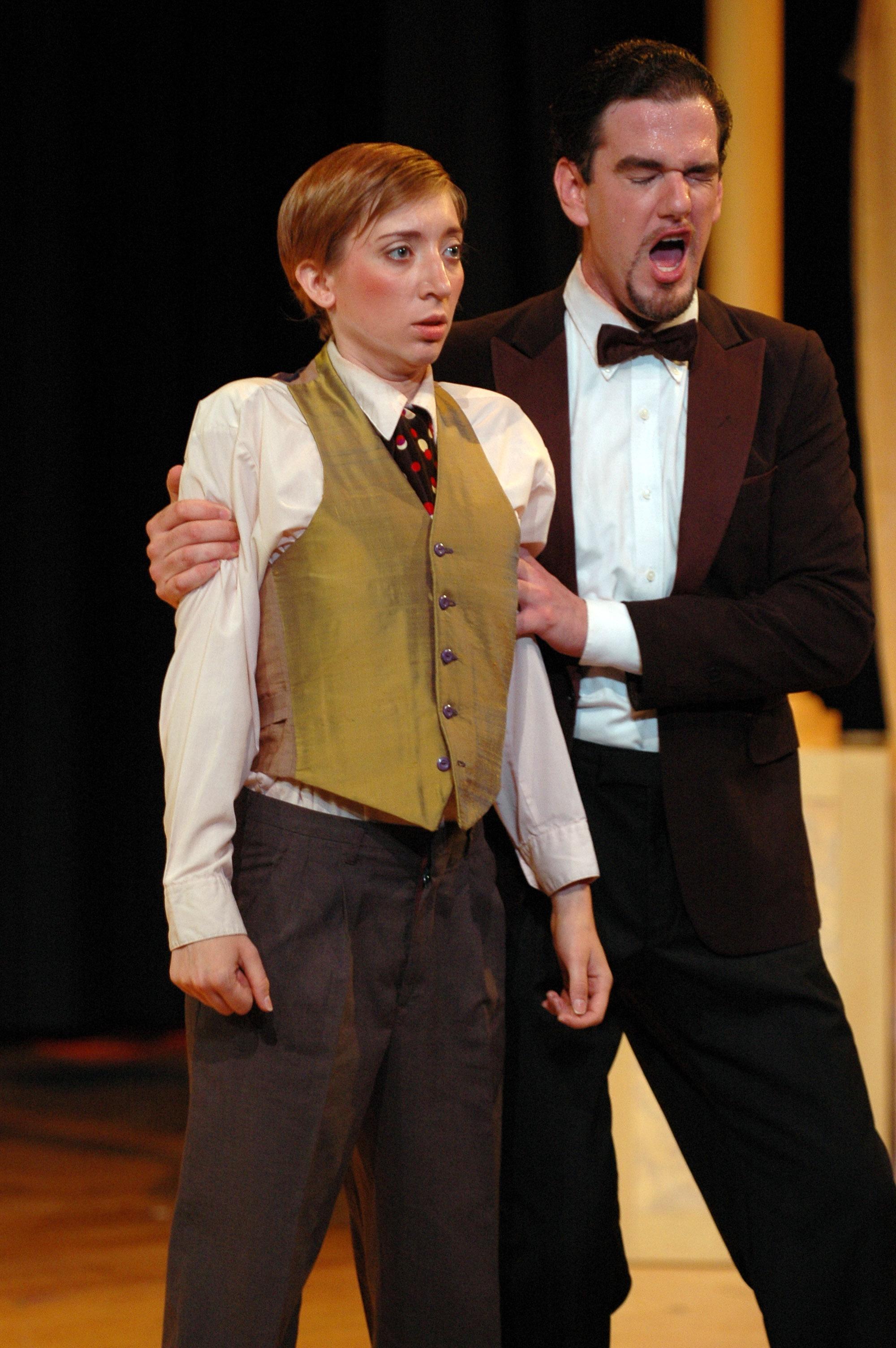 Cherubino,  Le nozze di Figaro  Boston Opera Collaborative, 2010 photo credit: Justin Bates