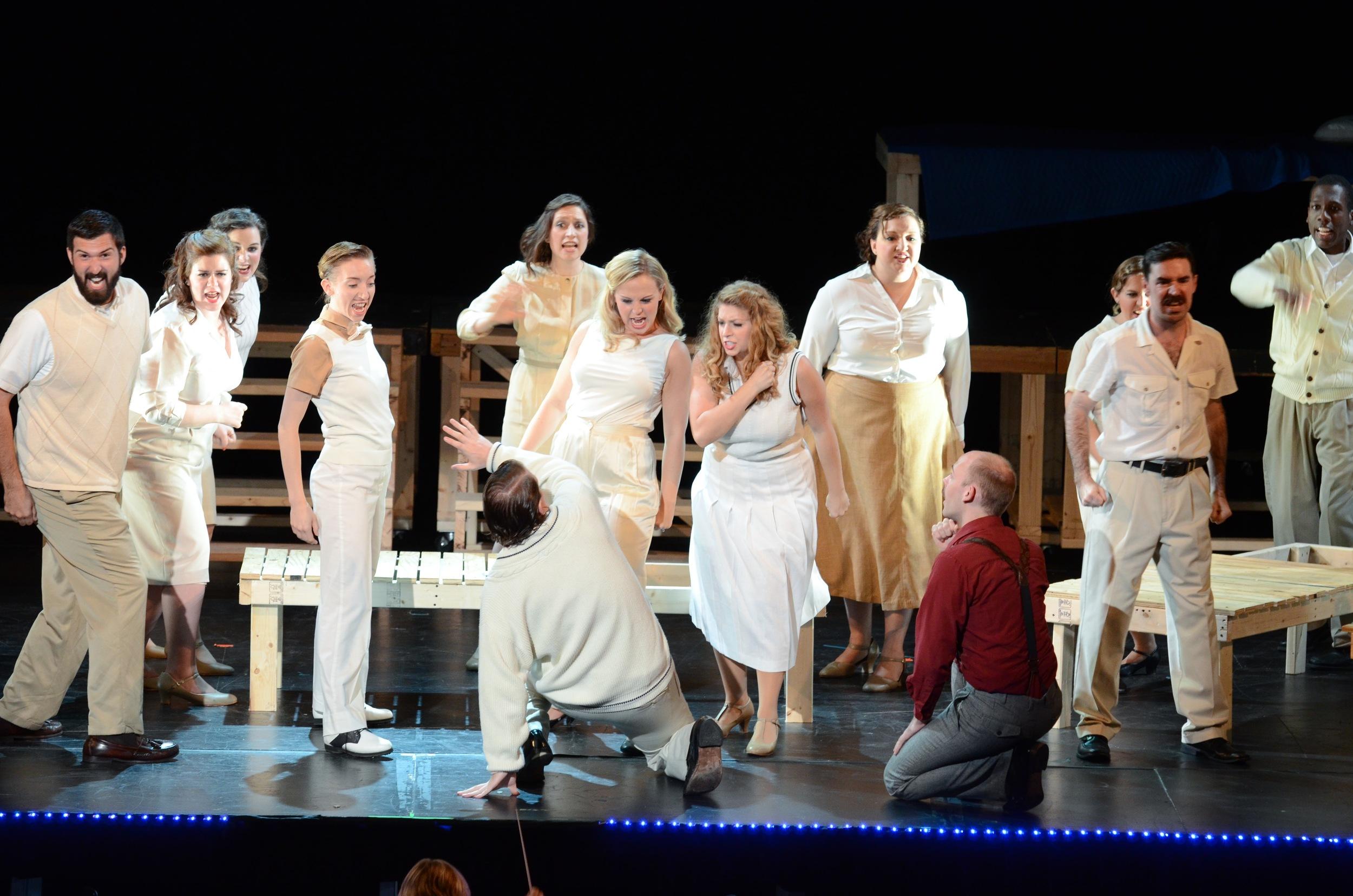 Cupid,  Orpheus in the Underworld  Boston Opera Collaborative, 2012 photo credit: Justin Bates