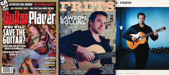 Guitar Player Magazine  interview is  here.