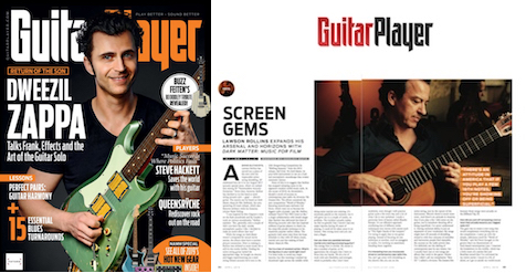 2019 Guitar Player Magazine Interview