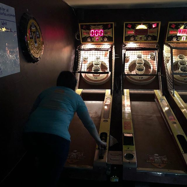 Week 8! . . . . . #brewskeeball