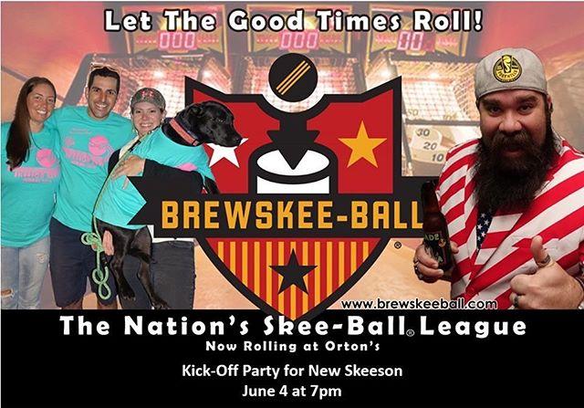 Let's go!! #brewskeeball #brewskeeballwilm #skeeball #wilmingtonnc