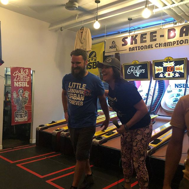 Crongratulations to both Emily Fulbright and Roto (@rotorooter42) for making it into the Brew-Skeeball hall of fame!