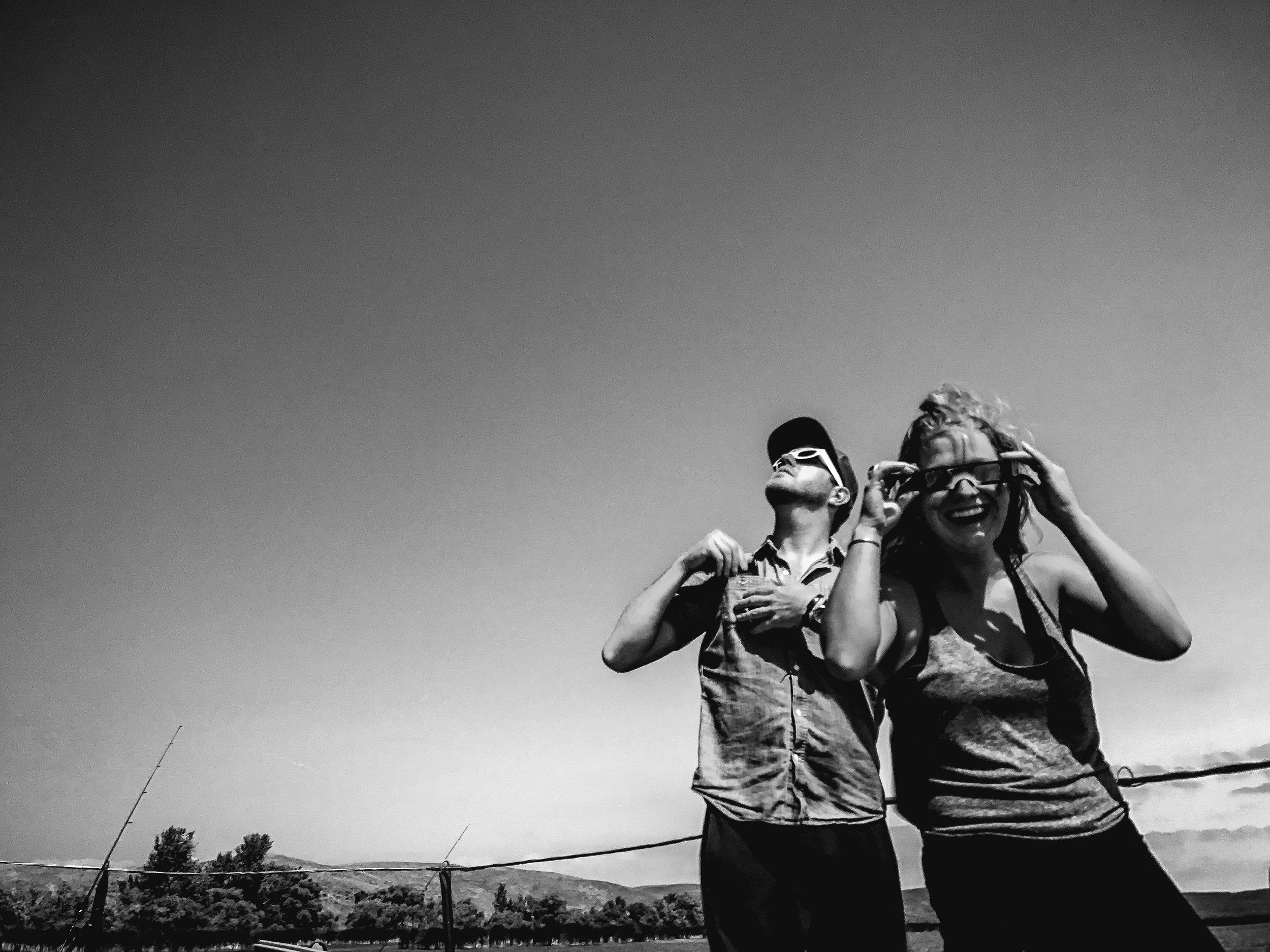 Crescent Lake - Nebraska — Solar EclipseAugust 2017