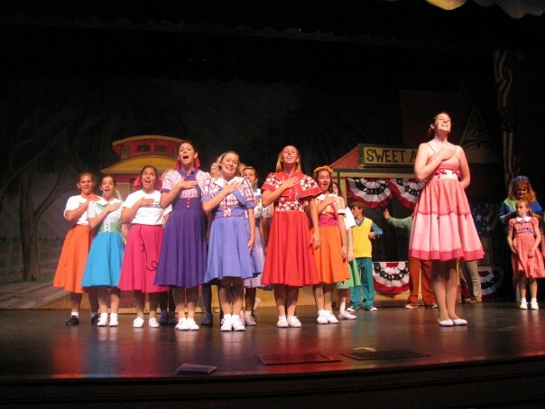Kim McAfee in  Bye Bye Birdie  (Pink Dress)