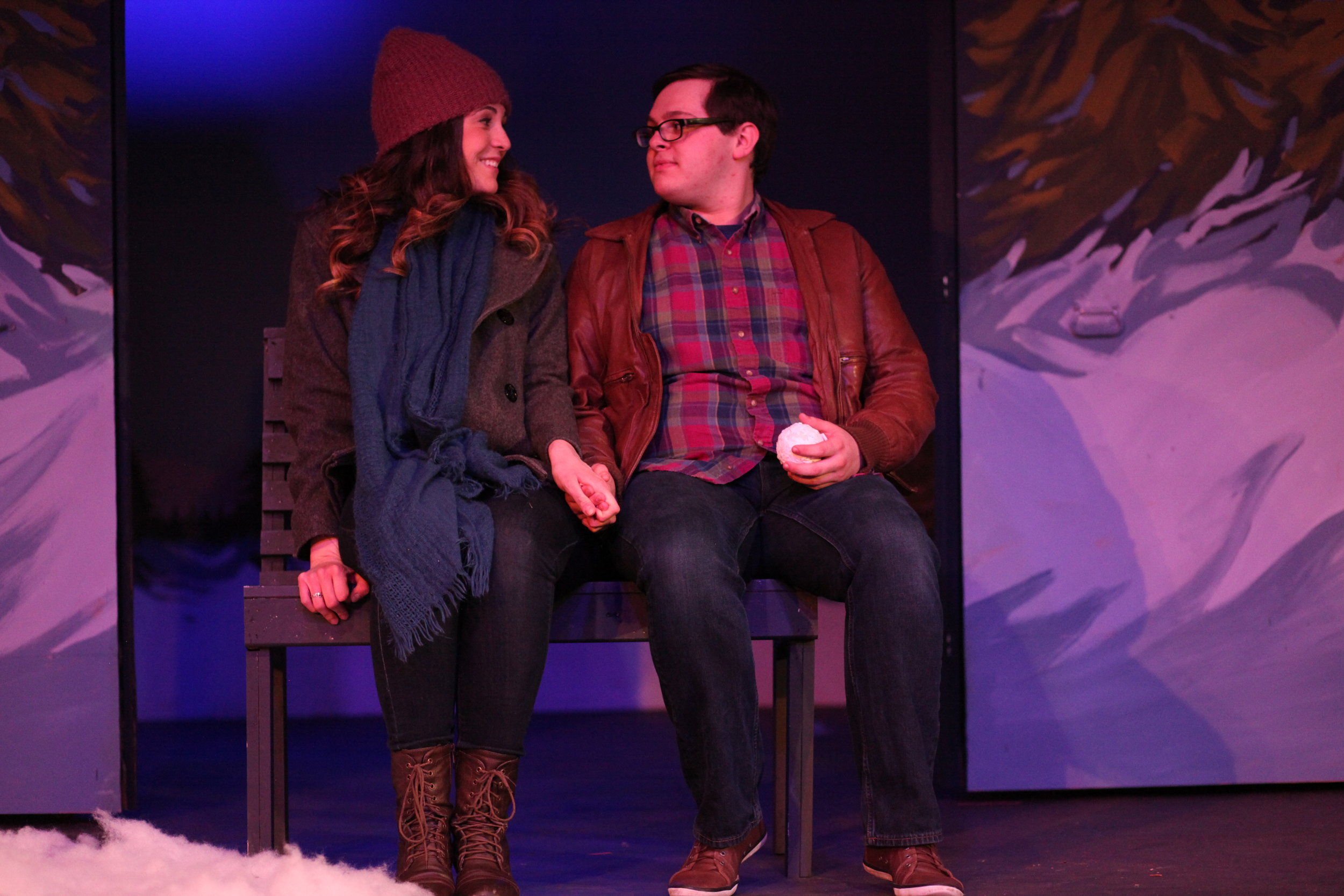 Gayle in  Almost, Maine