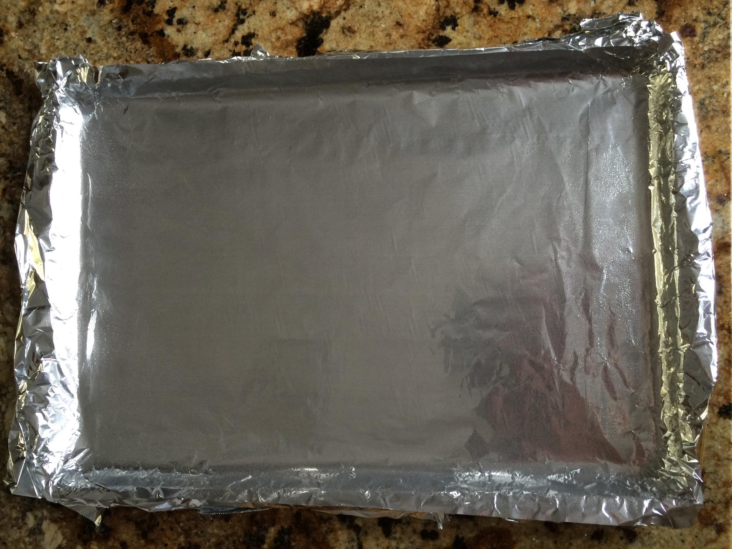 Foil sling greased