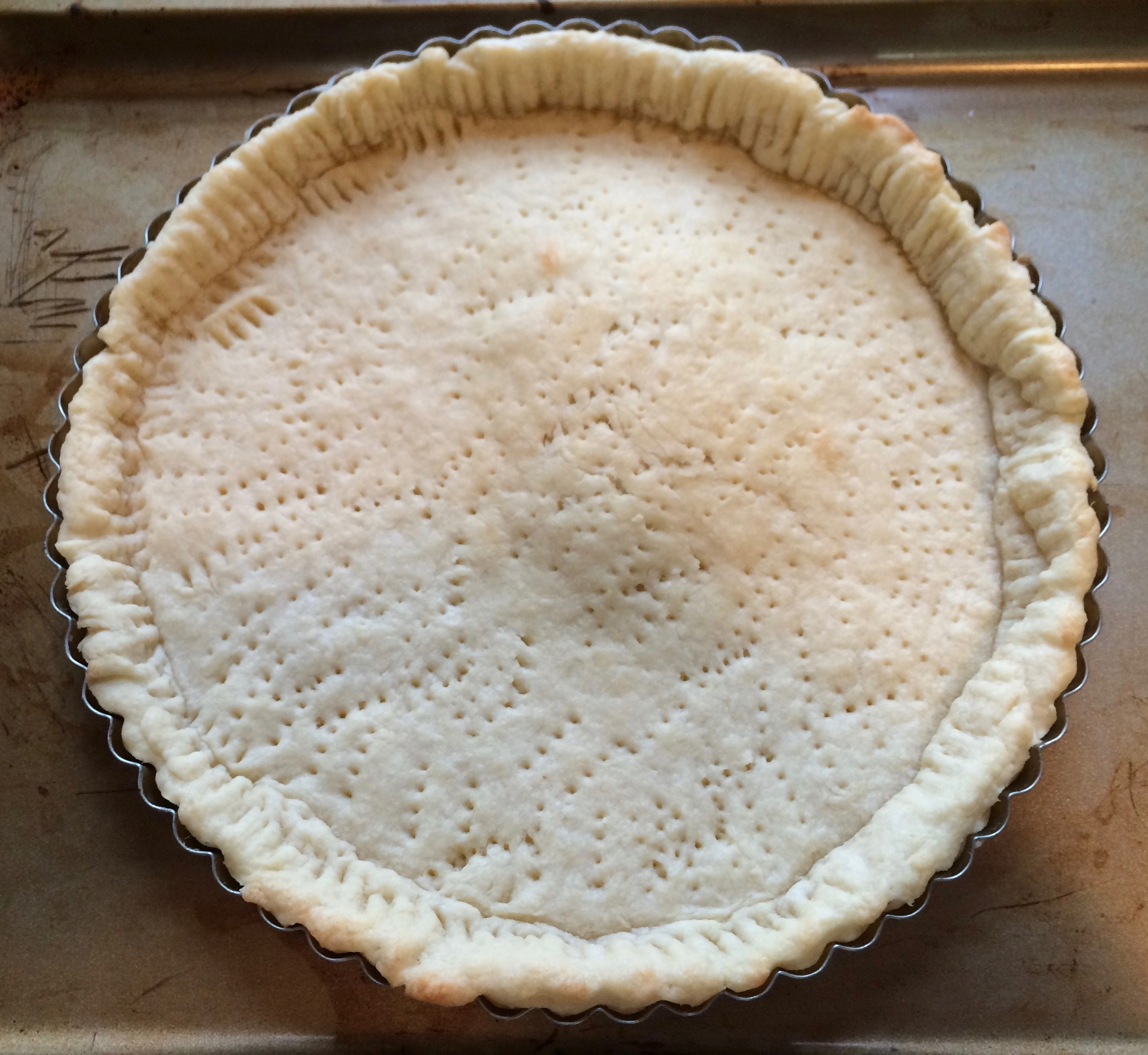Fully baked shell