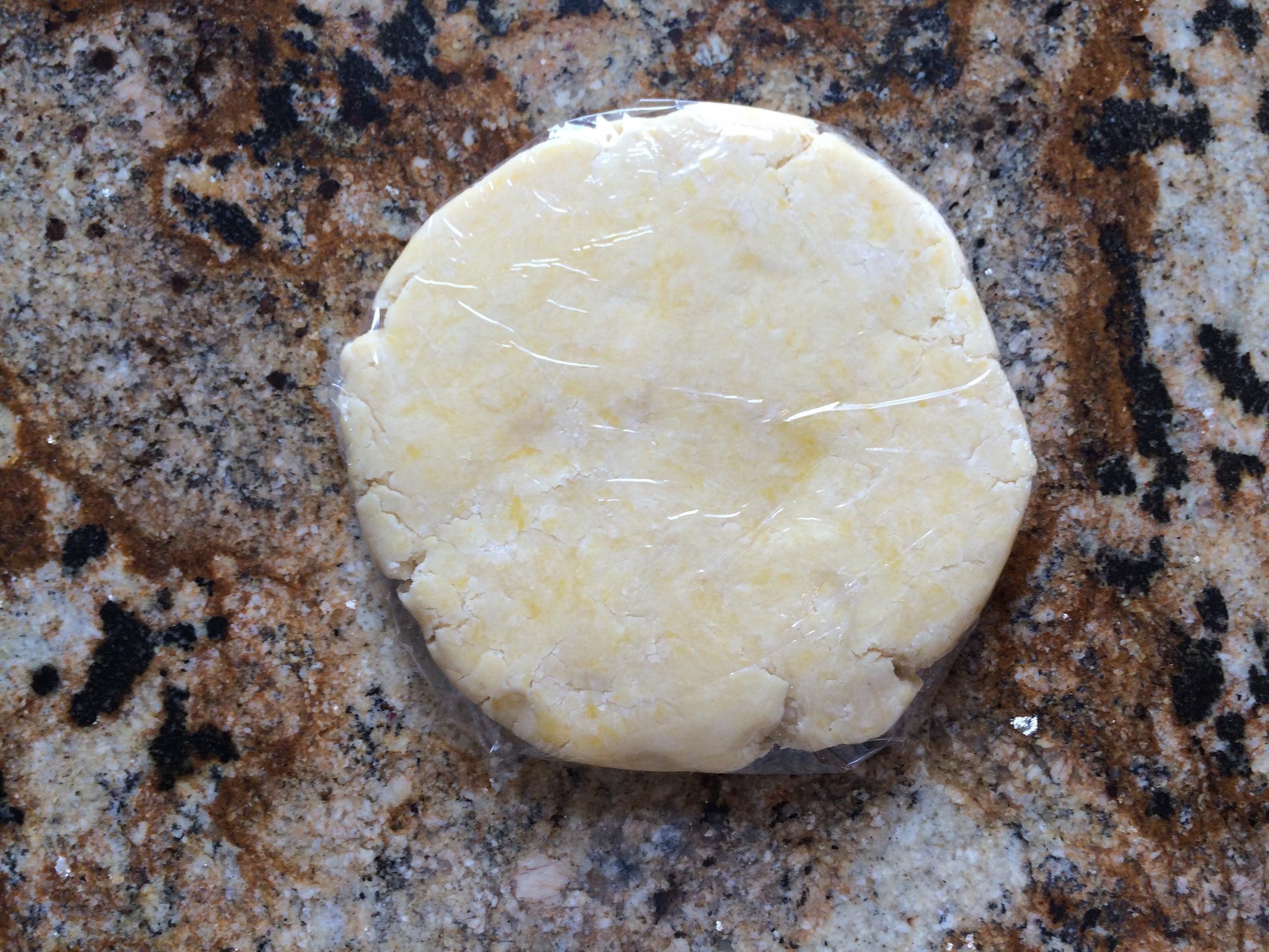 Dough disc
