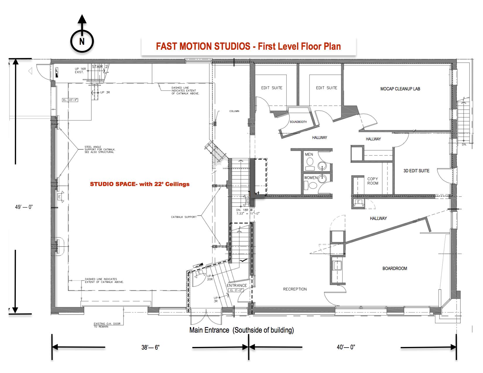 Studio Rental — Fast Motion Studios