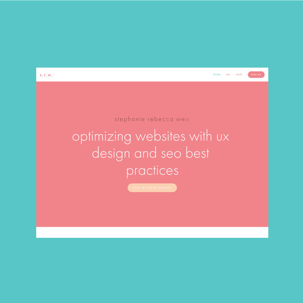 UX Design & SEO Strategy - Stephanie has years of experience in marketing and advertising helping clients across various industries optimize their websites to enhance the user experience and increase organic rankings.