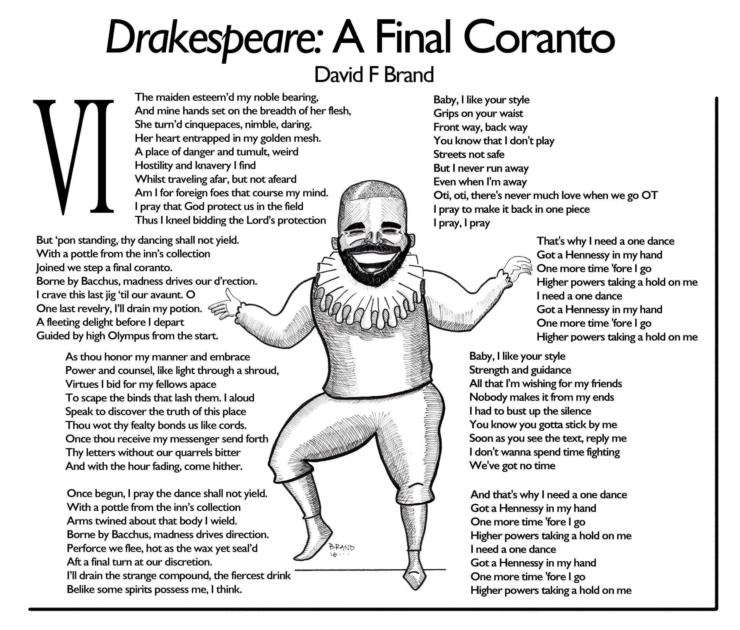 Drakespeare - A Final Coranto
