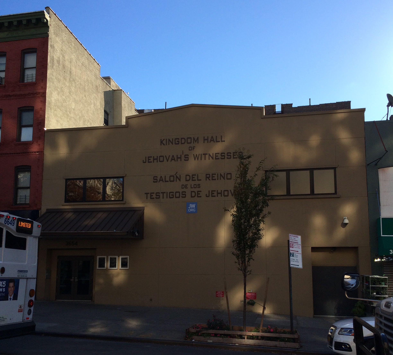 10. Kingdom Hall of Jehovah's Witnessess