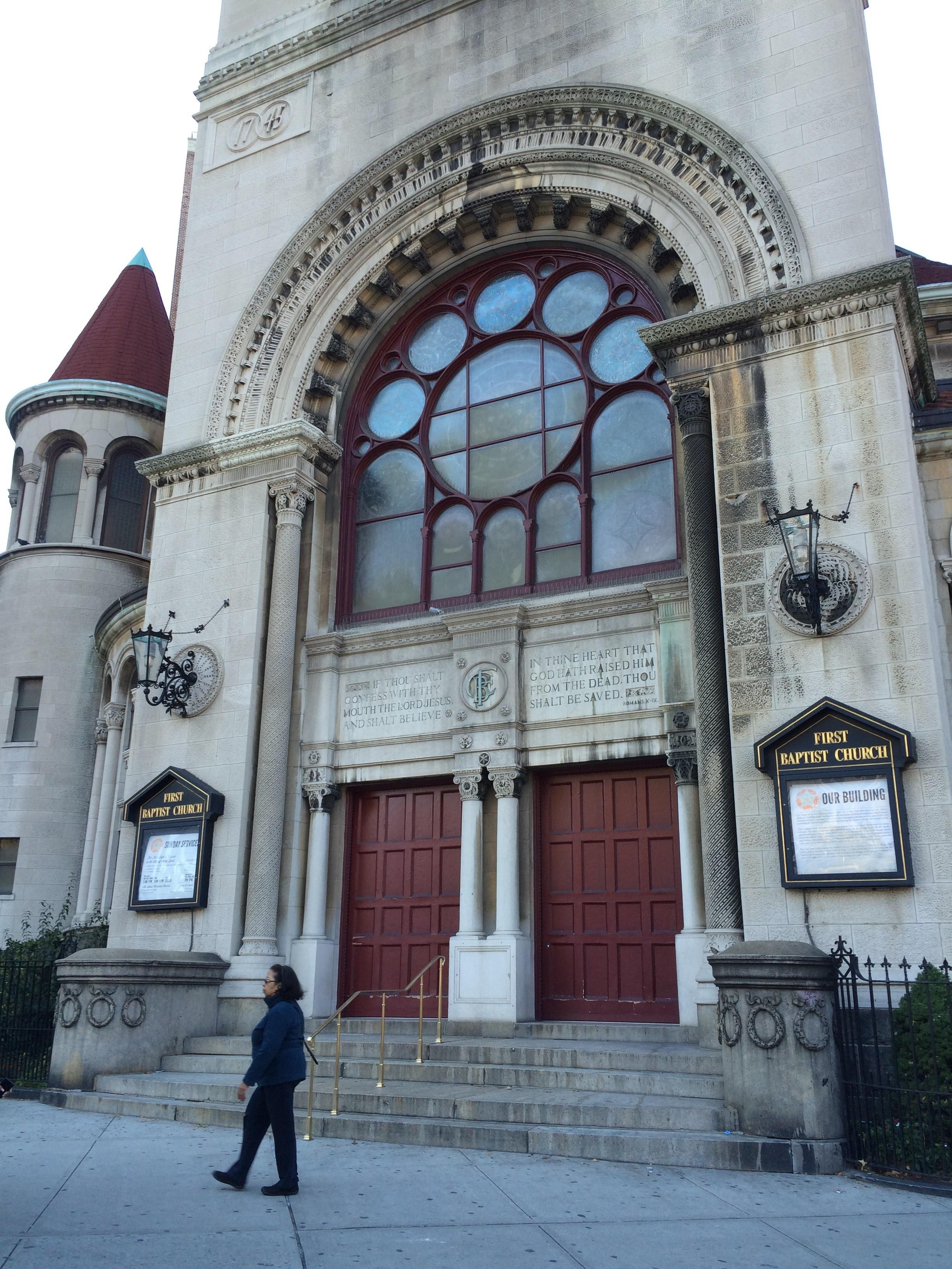 19. First Baptist Church