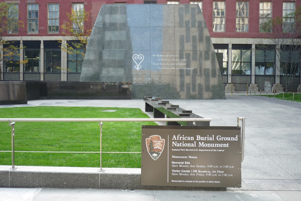 26. African Burial Ground National Monument