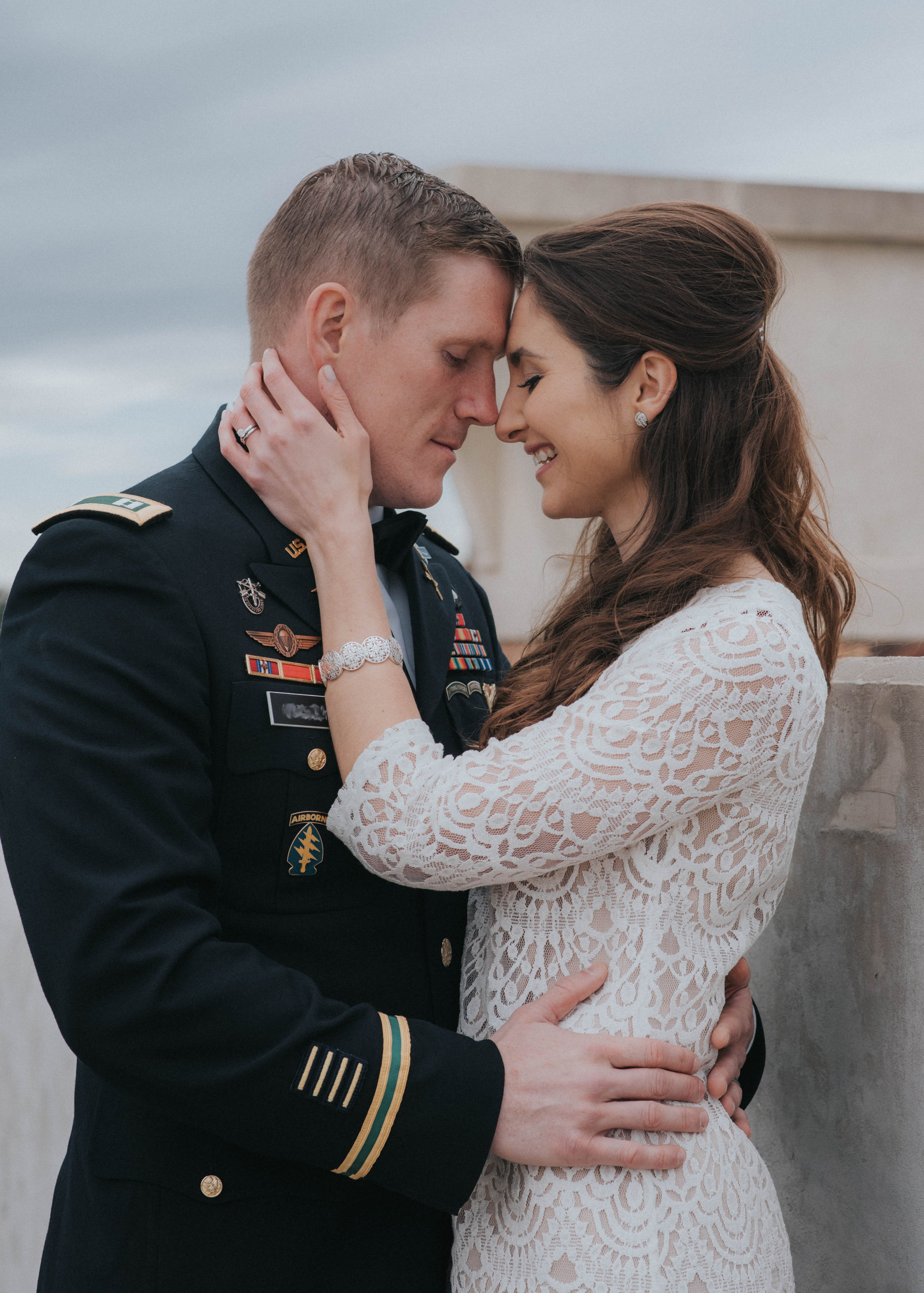 Downtown Fayetteville, NC Intimate Wedding
