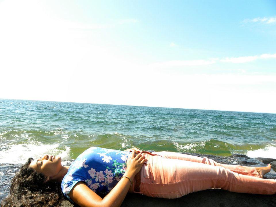 Nidra on the North Shore. Photo by Serita