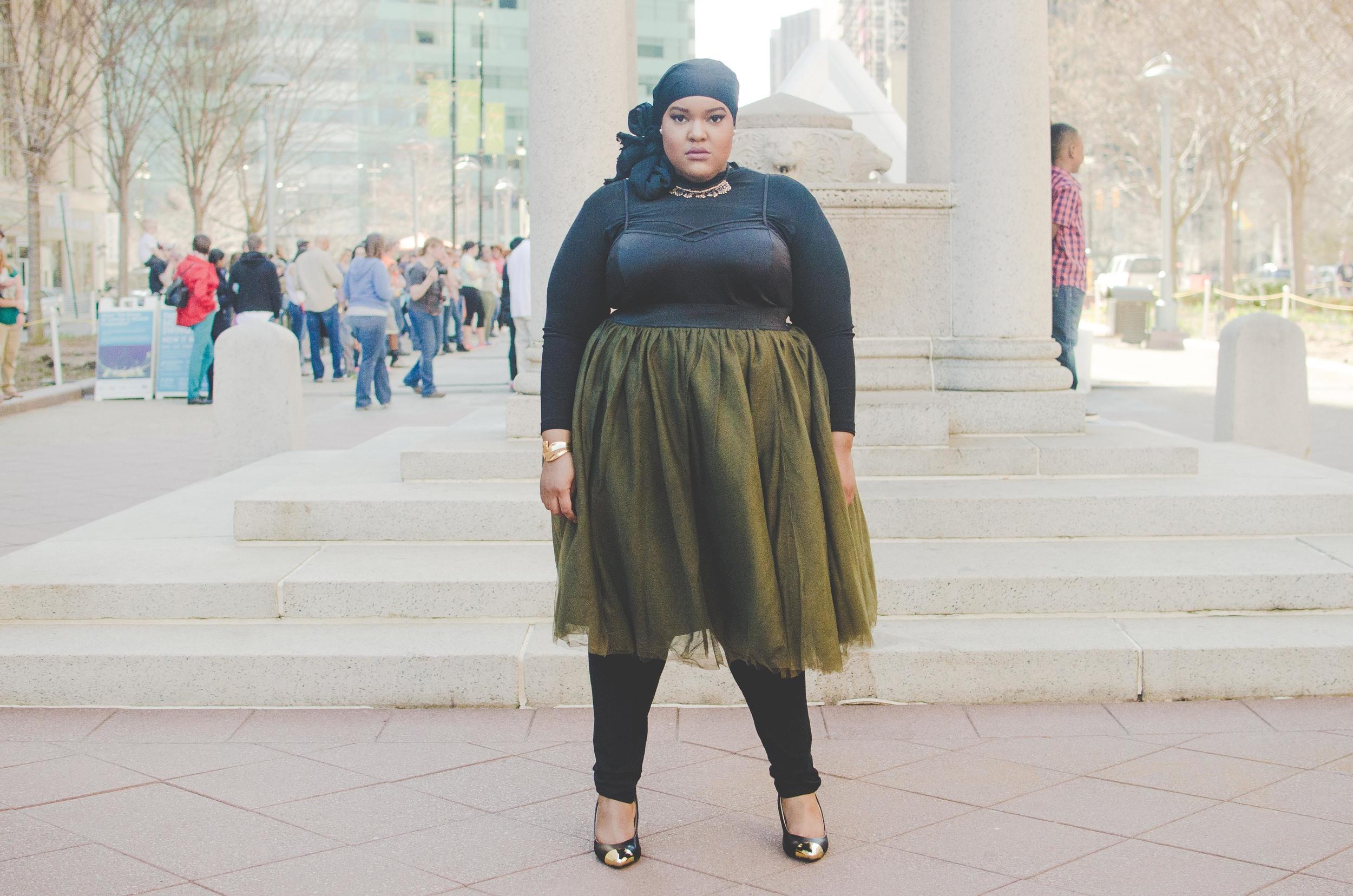 Photo:  Reel Clever Films  MUA:  Madinah M.  Model:  Leah V  Wardrobe:  Society+ Styling Asst:  Holly Haynes Hartter