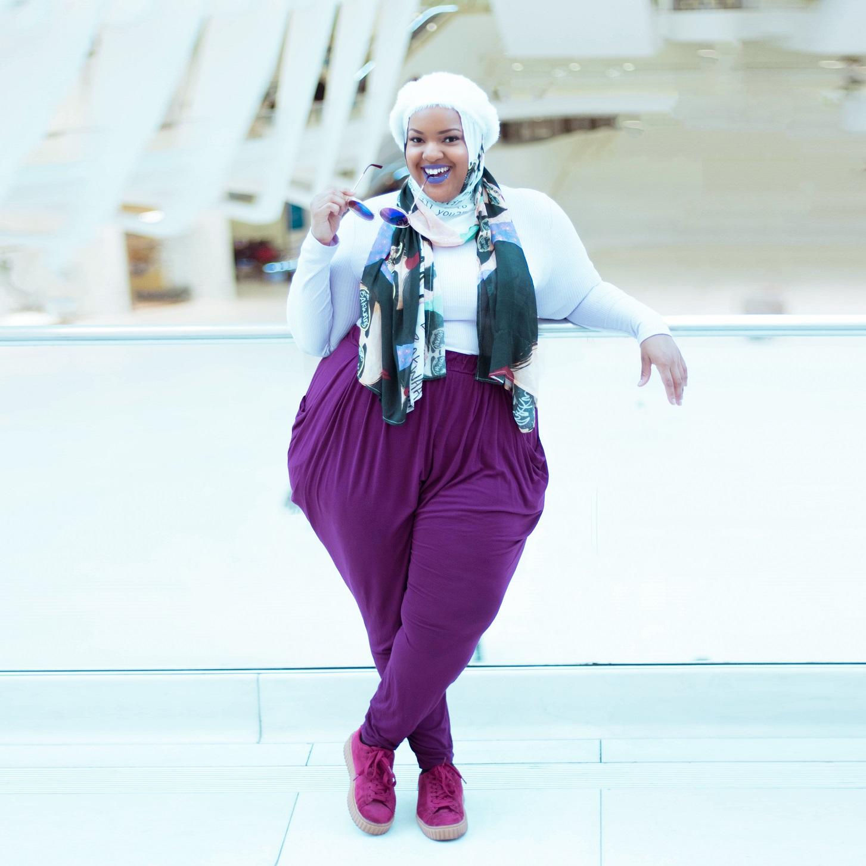 Hijab:  VELA Scarves