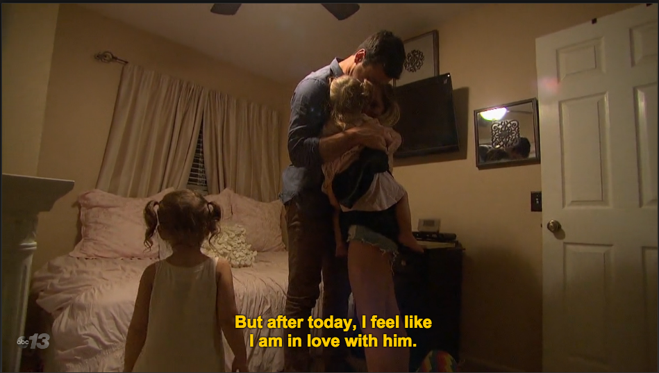 How could she NOT be after watching this man care for her children? UGH this is about to get complicated.