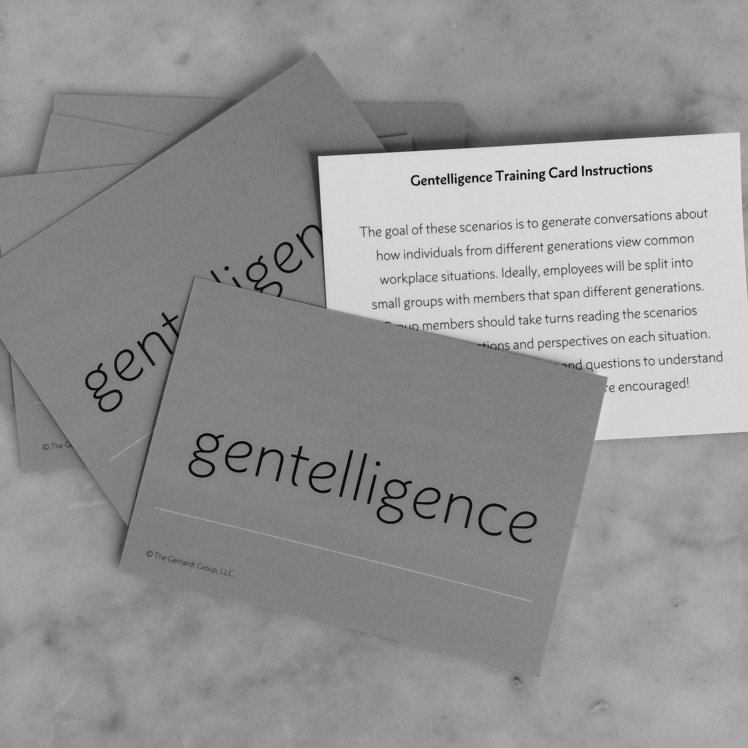 Buy your own Gentelligence2™ training materials & run your own Generational training at your organization!