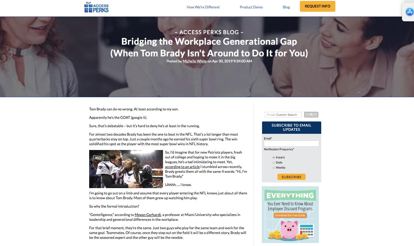 BRIDGING THE WORKPLACE GENERATIONAL GAP