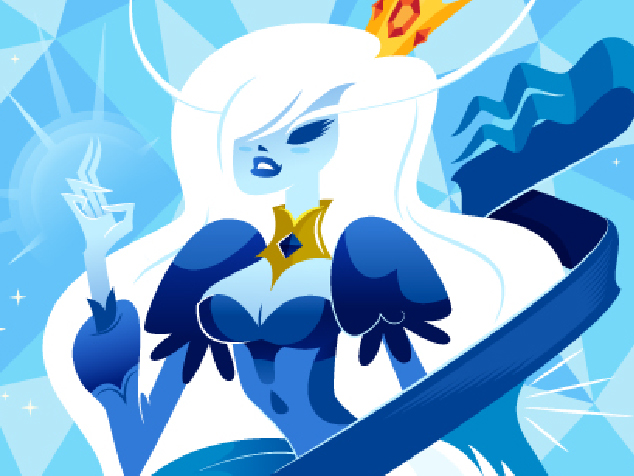 ICE QUEEN, NICE KING | ILLUSTRATION