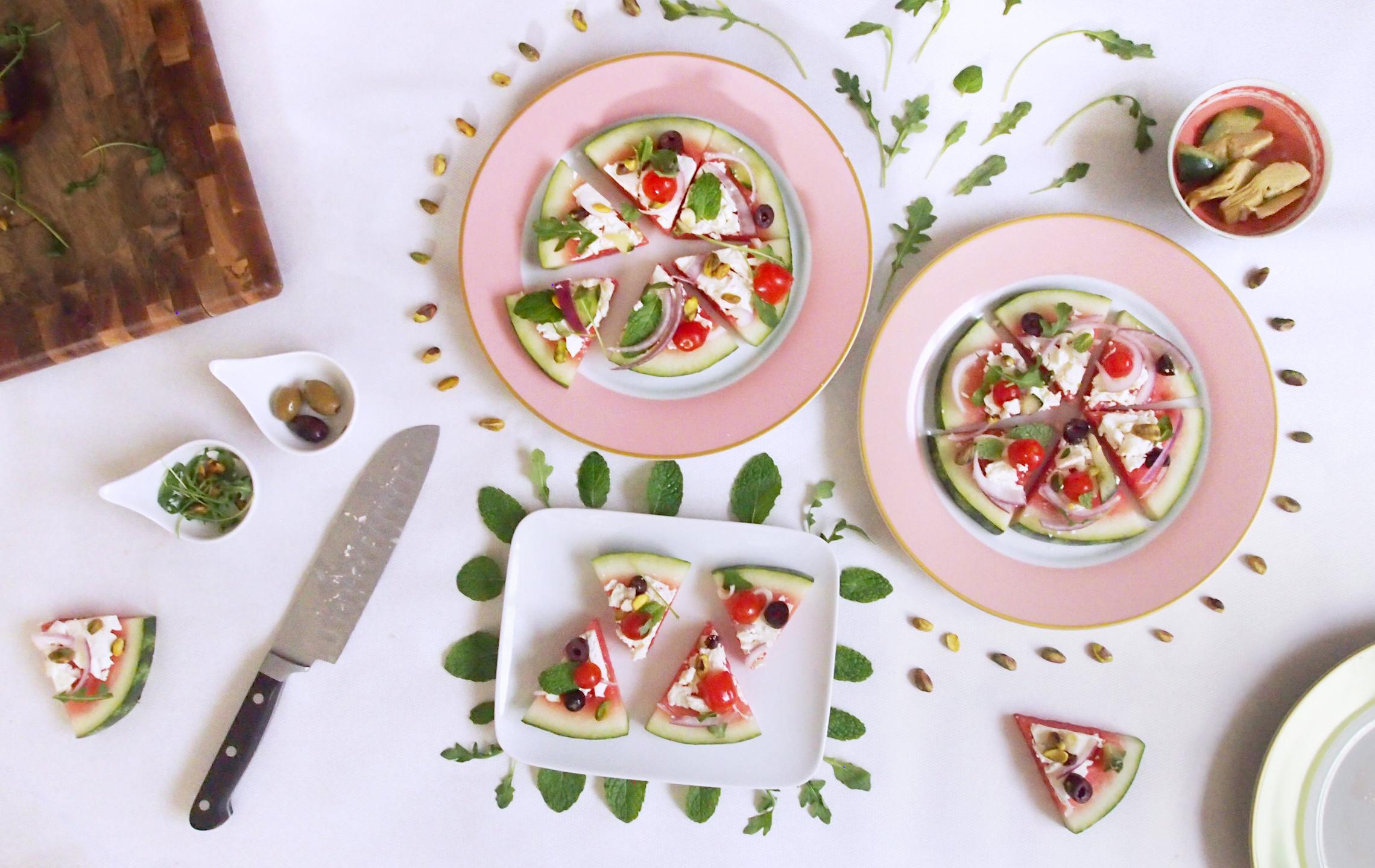 cocotrish watermelon pizza 1