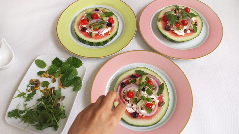 cocotrish watermelon pizza 8