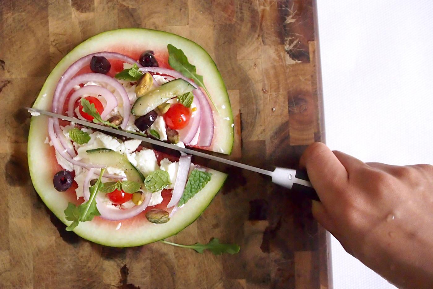 cocotrish watermelon pizza 9