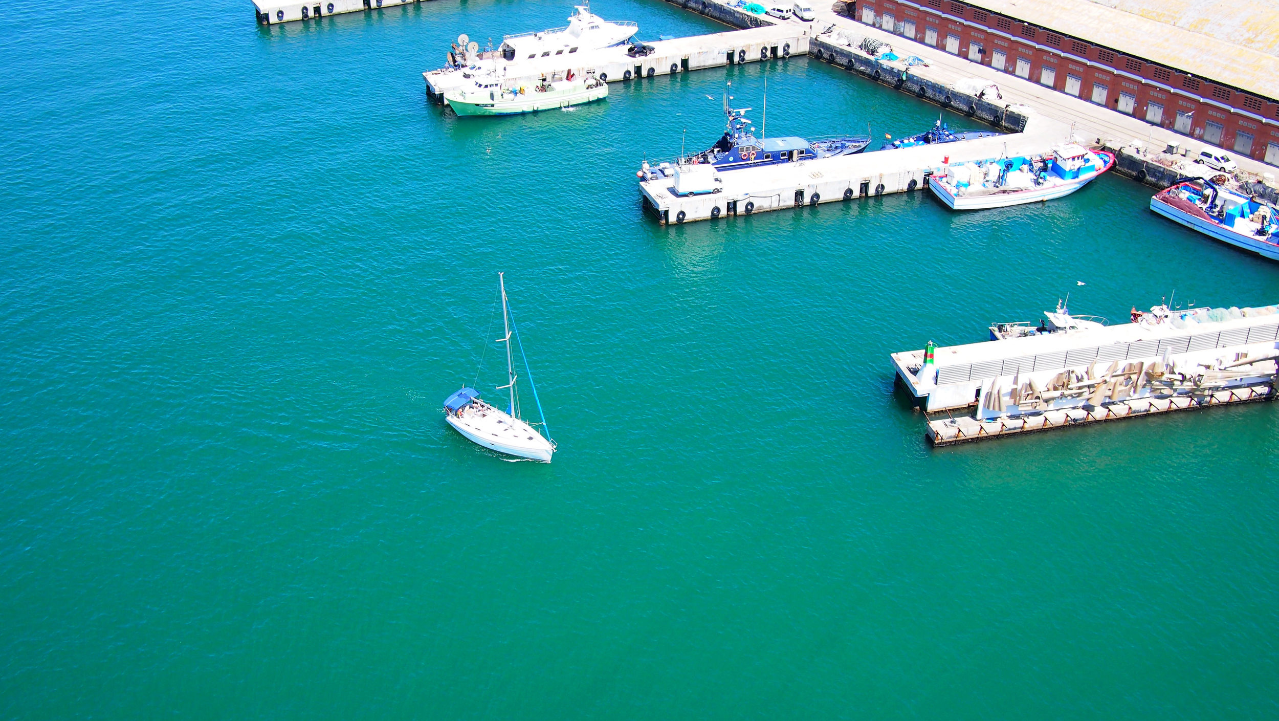 Port Vell, view from cable car