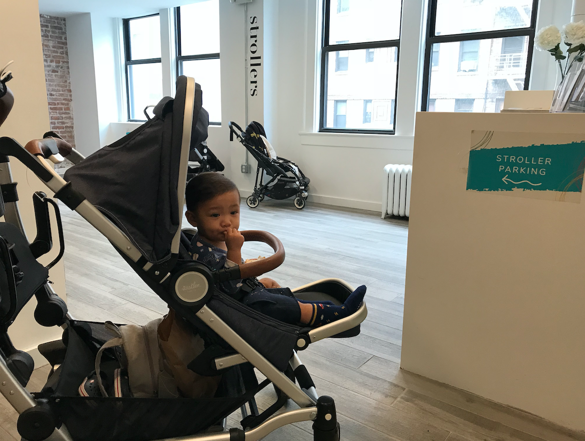 Located on the 3rd floor, strollers and younger siblings are welcome. (AKA future dancers!)