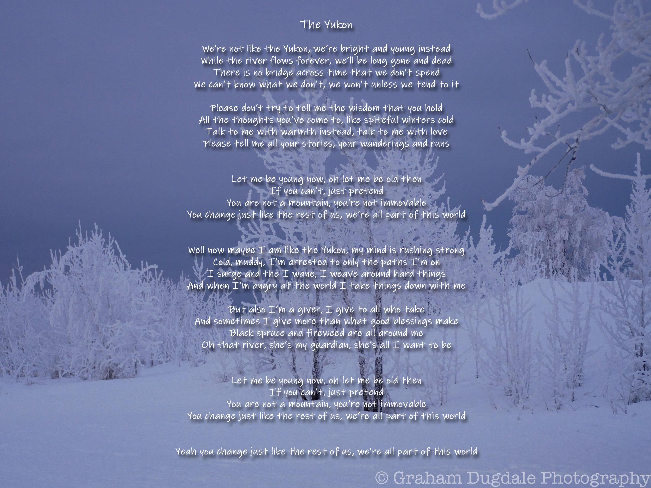 Lyrics — Tanana Rafters