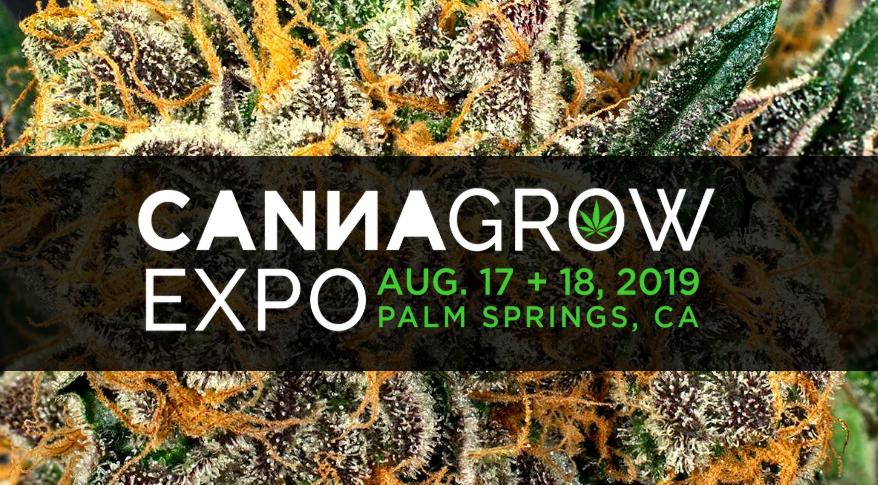 - Canna Grow Expo - Palm Springs, CA: August 17-18, 2019Join Ganjasana for the Soul of Soil Presentation, and Ganjasana CBD Yoga Class.