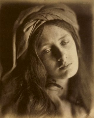 Self Portrait by Julia Margaret Cameron