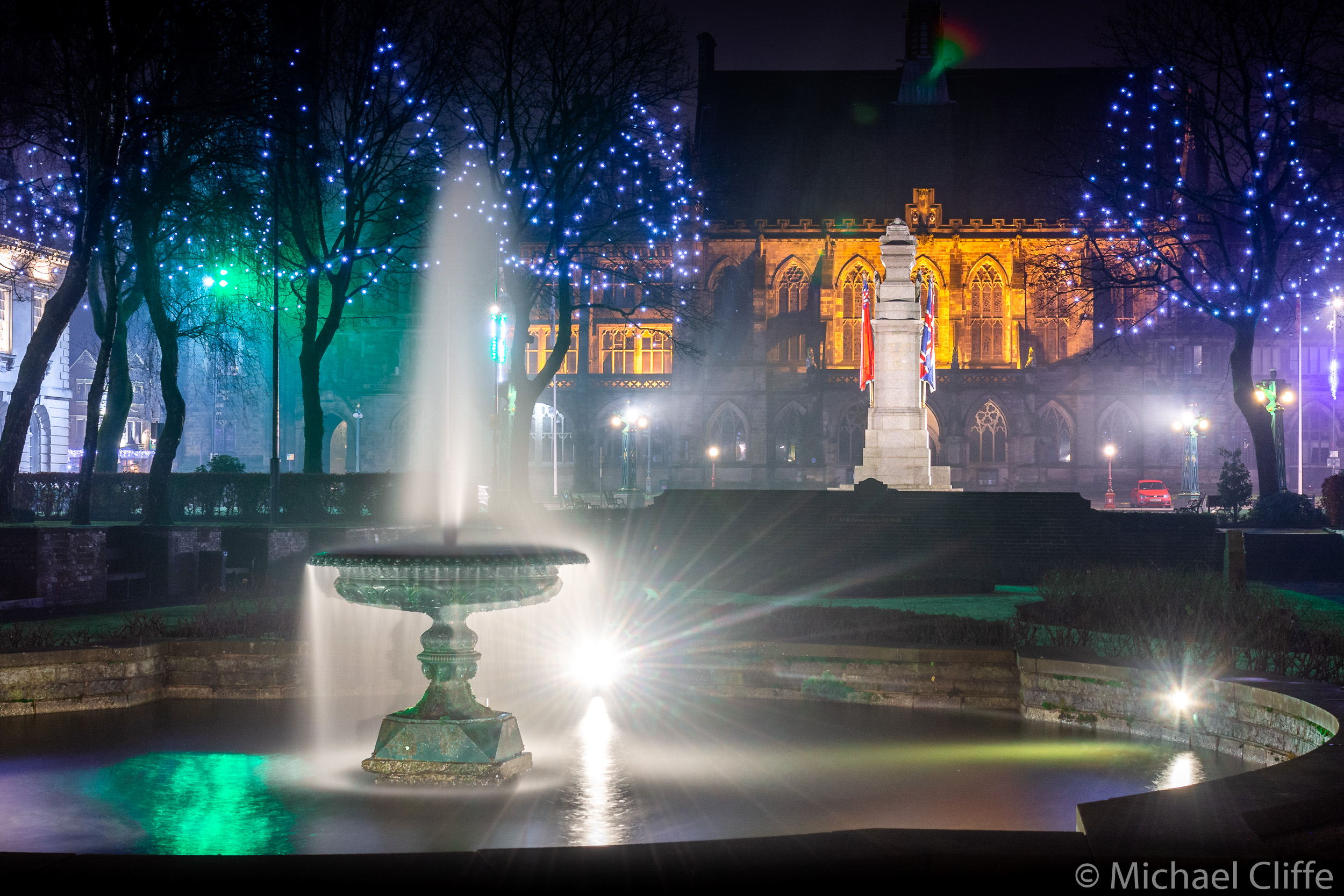The Fountain at Rochdale Memorial Gardens Dec. '18 (1 of 1).jpg