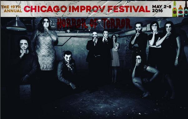 Emily Ember Chicago Improv Festival Scream Theatre CIF 2016