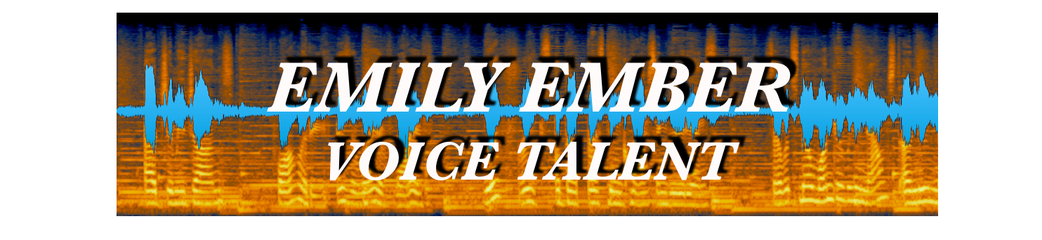 Emily Ember the Name to Remember Voice Talent Voiceover Microphone Chicago Waveform