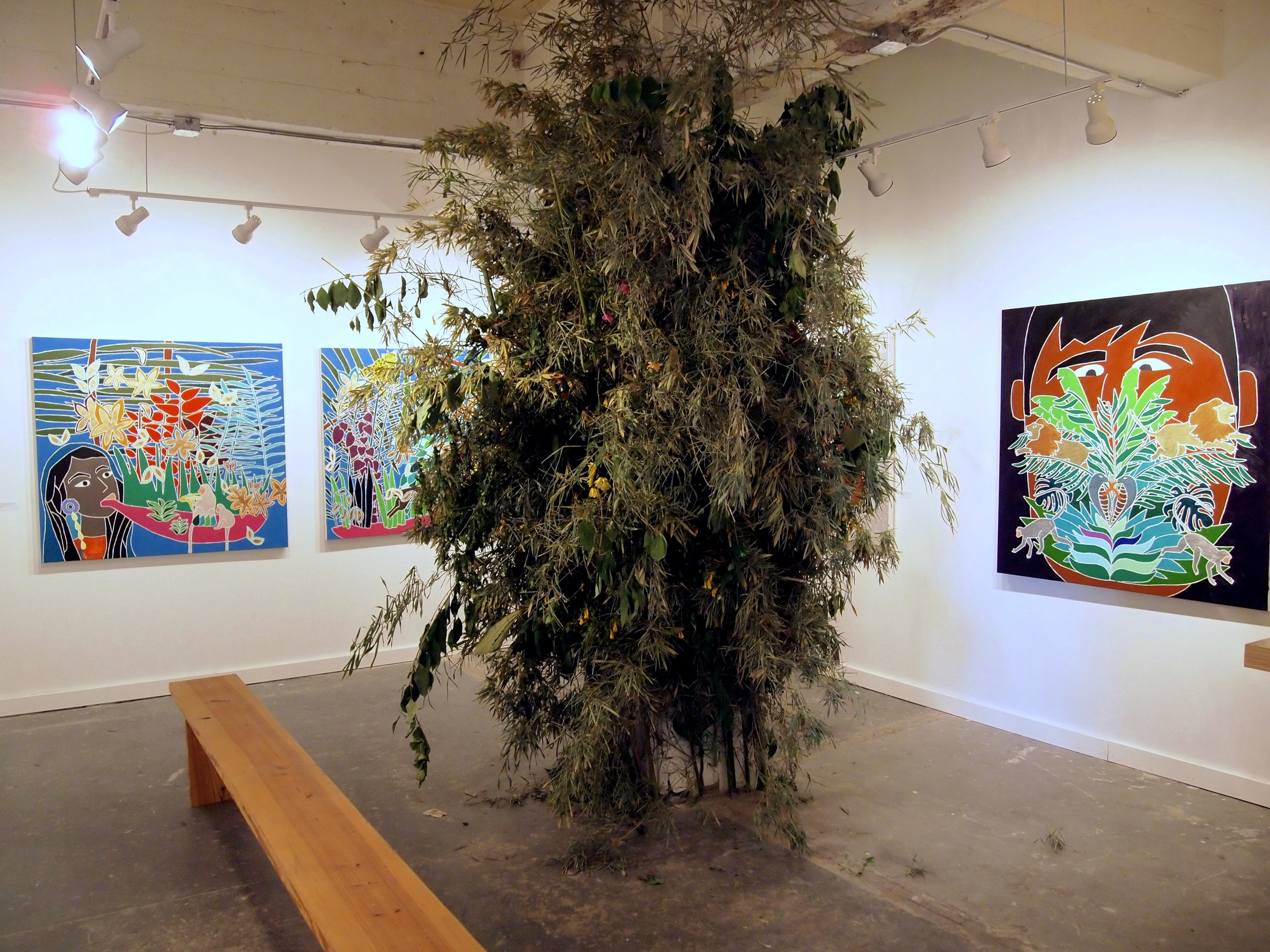 Installation view at Hello Studio, San Antonio TX 2013