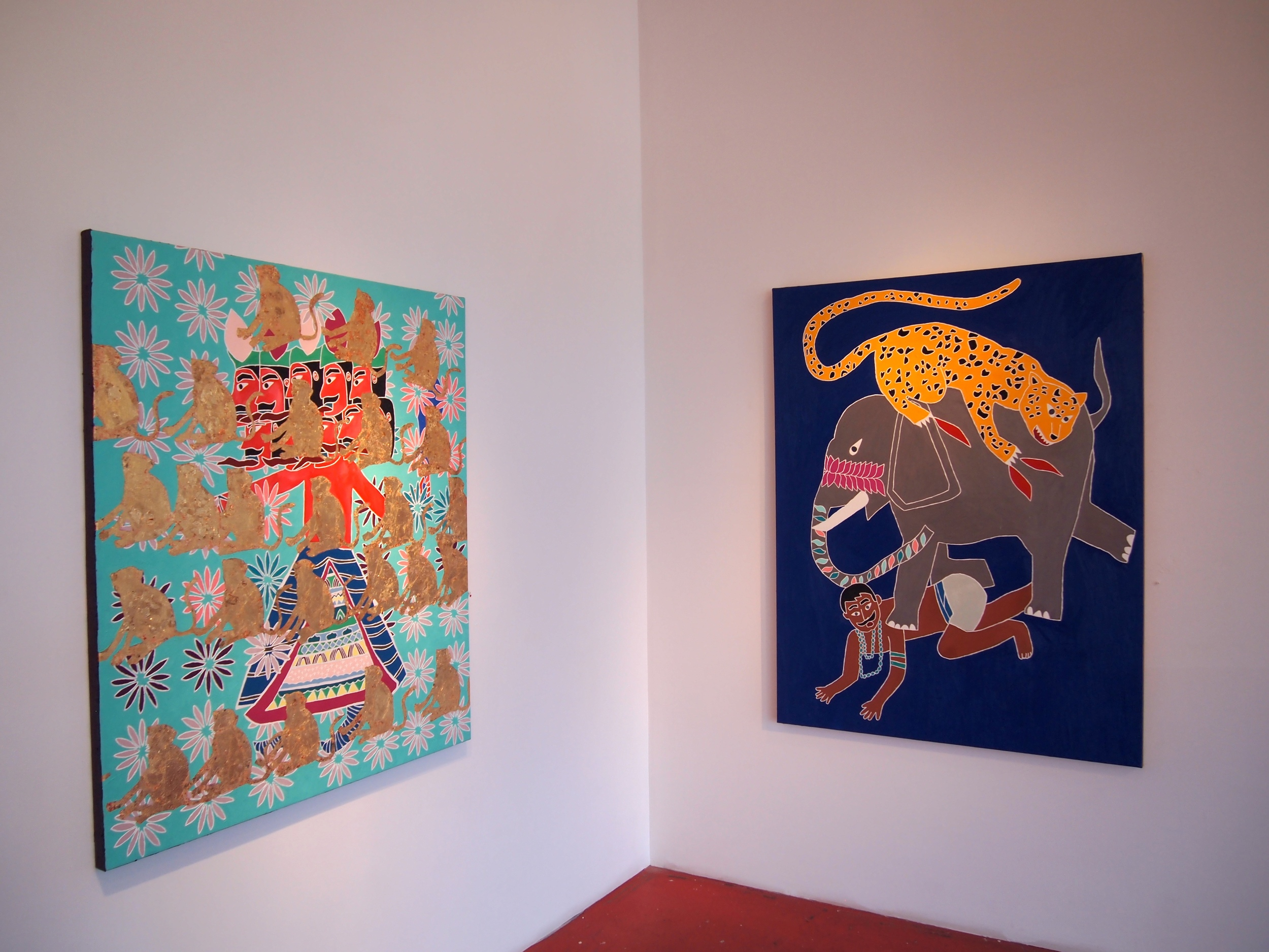 Installation view at G Gallery, Houston TX 2013