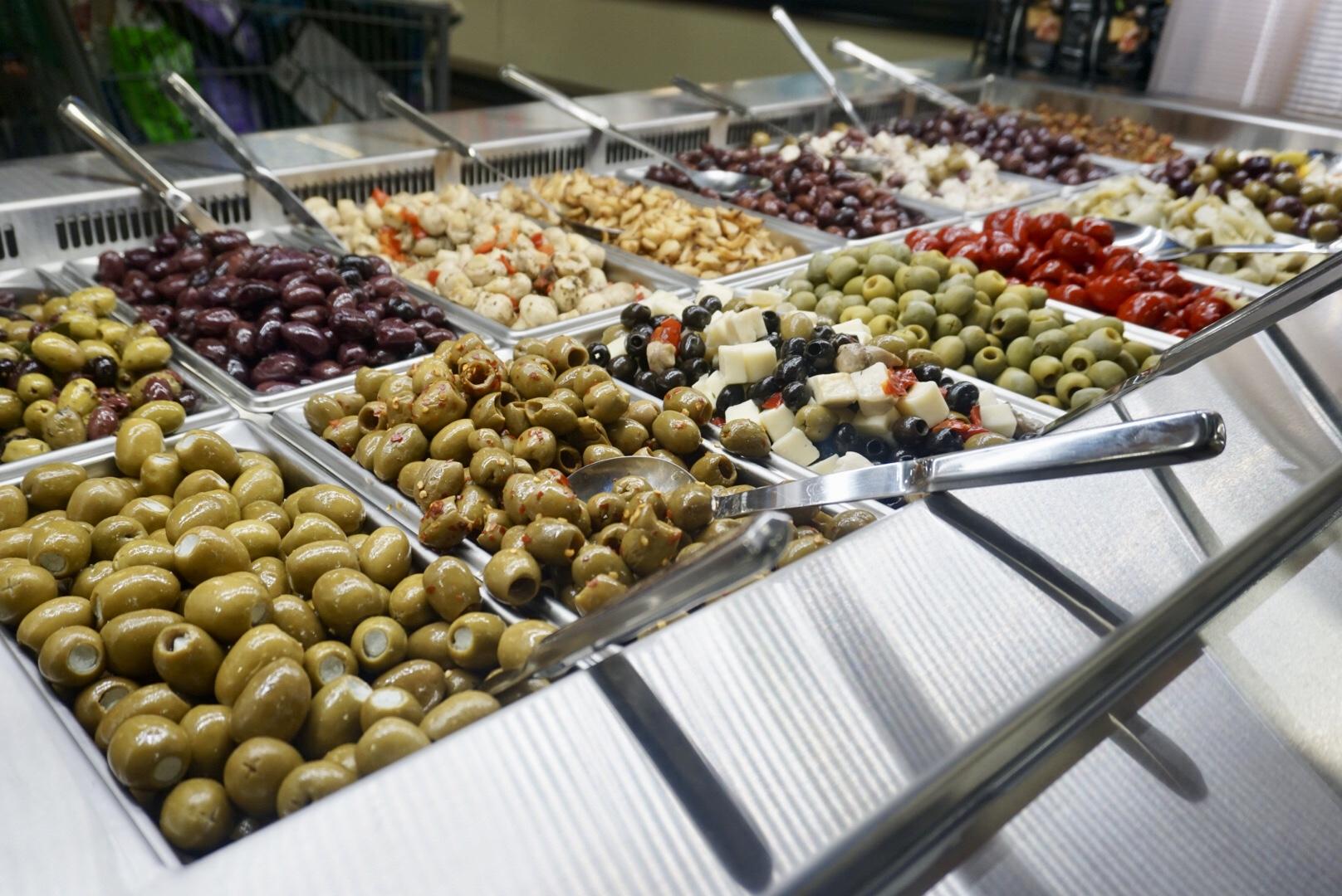 Olive Bar.
