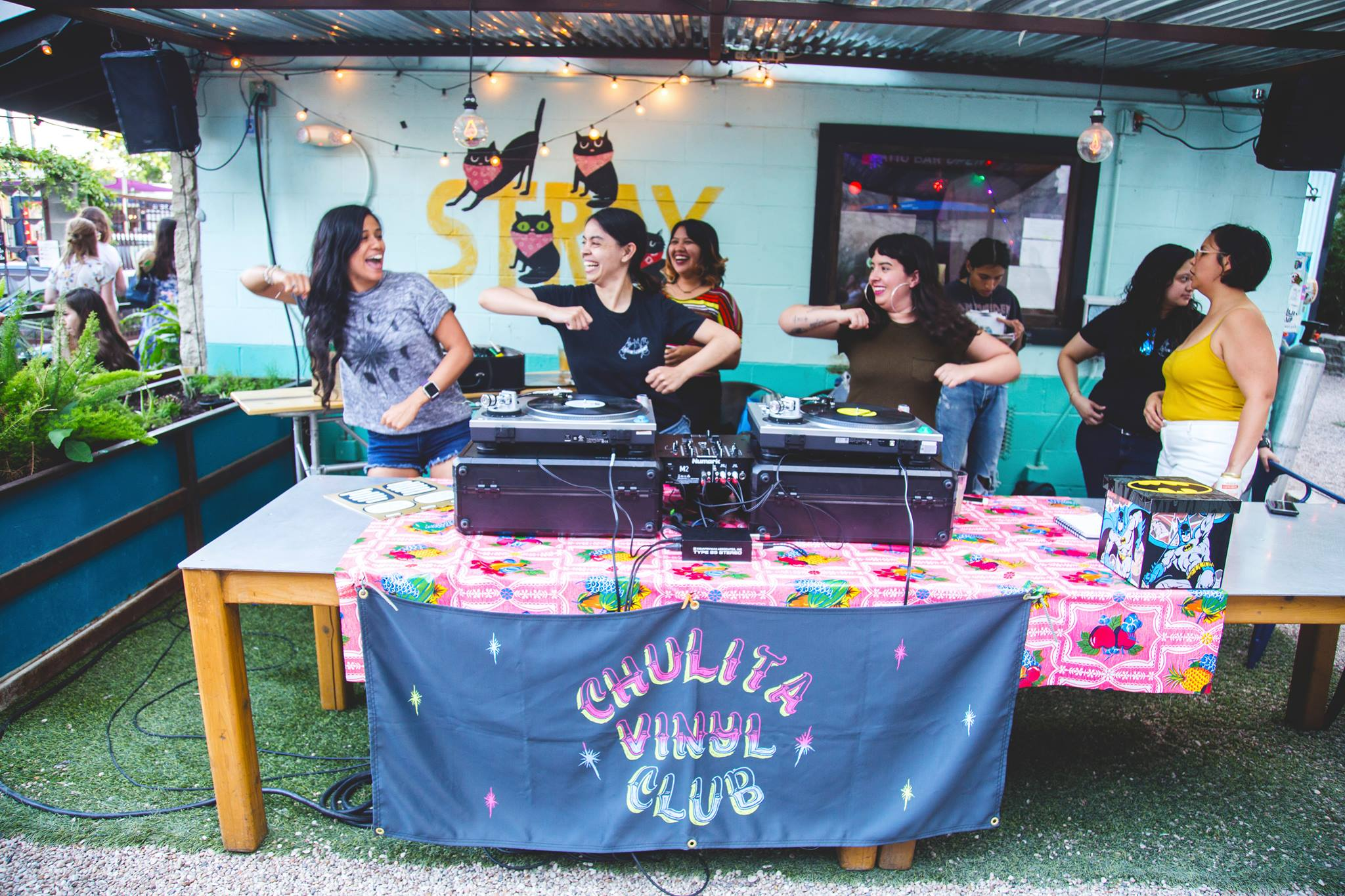 Chulita Vinyl Club was launched in December 2014 as an all-girl all-vinyl club for self-identifying womxn of color in the context of providing a space for empowerment and togetherness. They stand united as a female DJ collective spanning 7 national chapters bringing together a community of vinyl loving girls.
