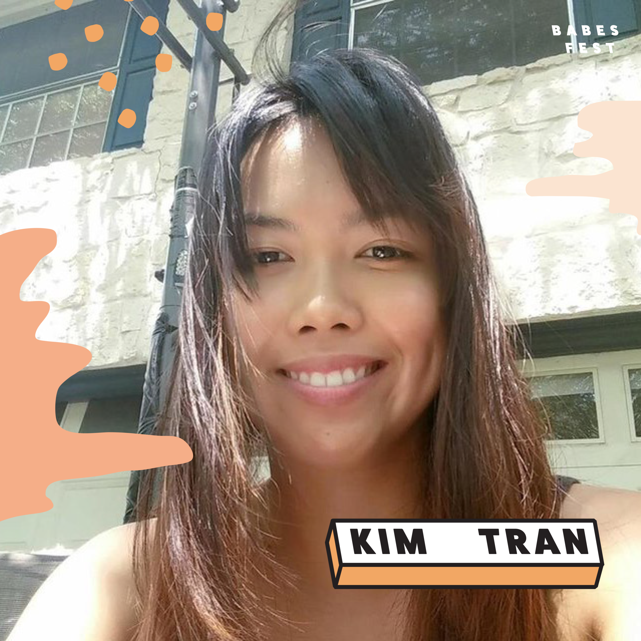 Kim Tran is a writer, actor and upcoming Michener fellow. She does improv and sketch in Austin and has written for Amy Poehler's Smart Girls. She used to rock a mohawk!
