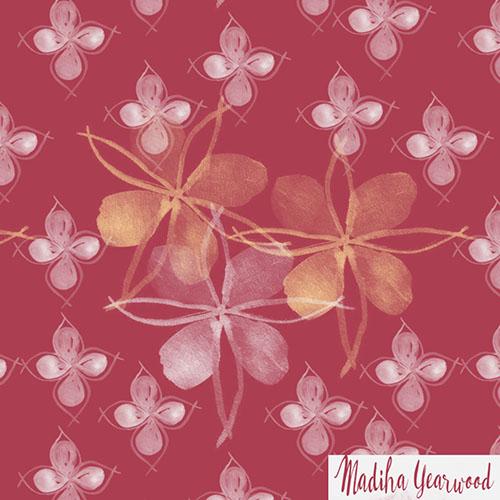 Day 72/100 a flower pattern