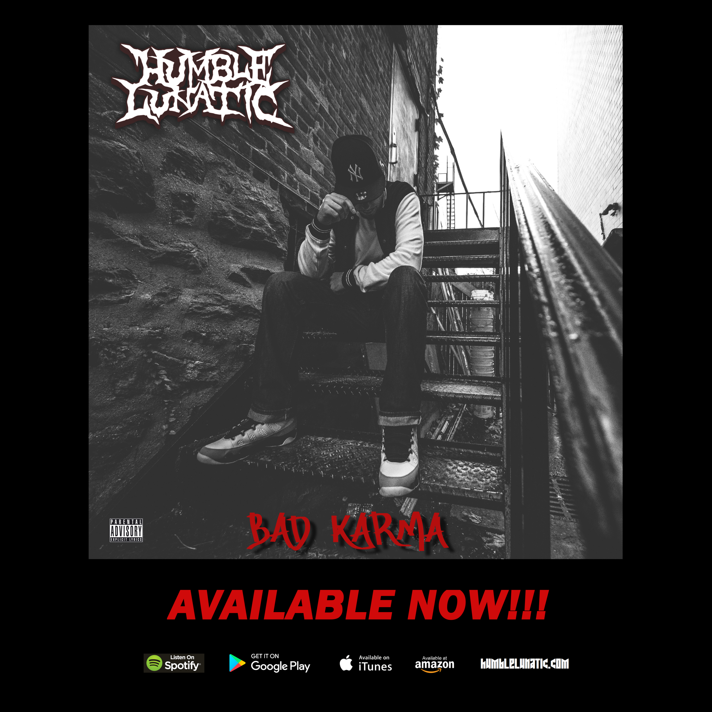 Bad Karma is available on ALL digital platforms NOW!!