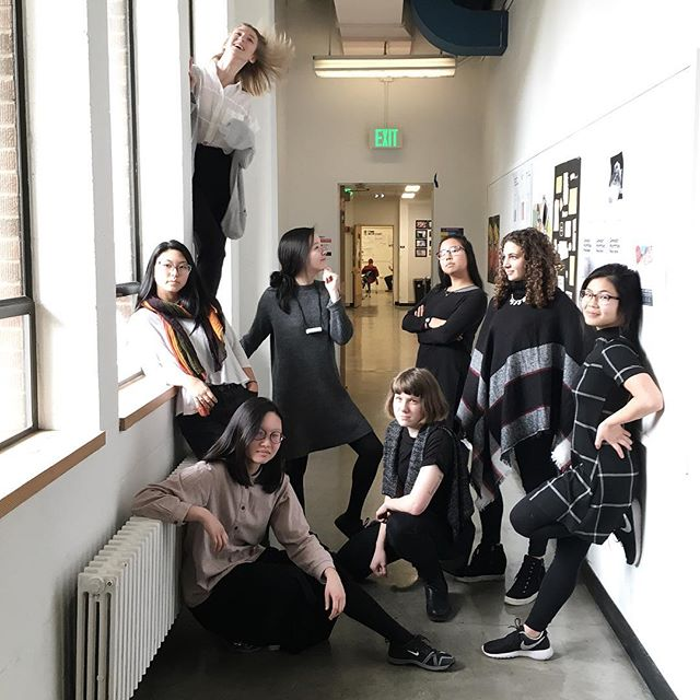 spirit week day 2: design gurlz in the form of karen cheng 📷: @katedogman