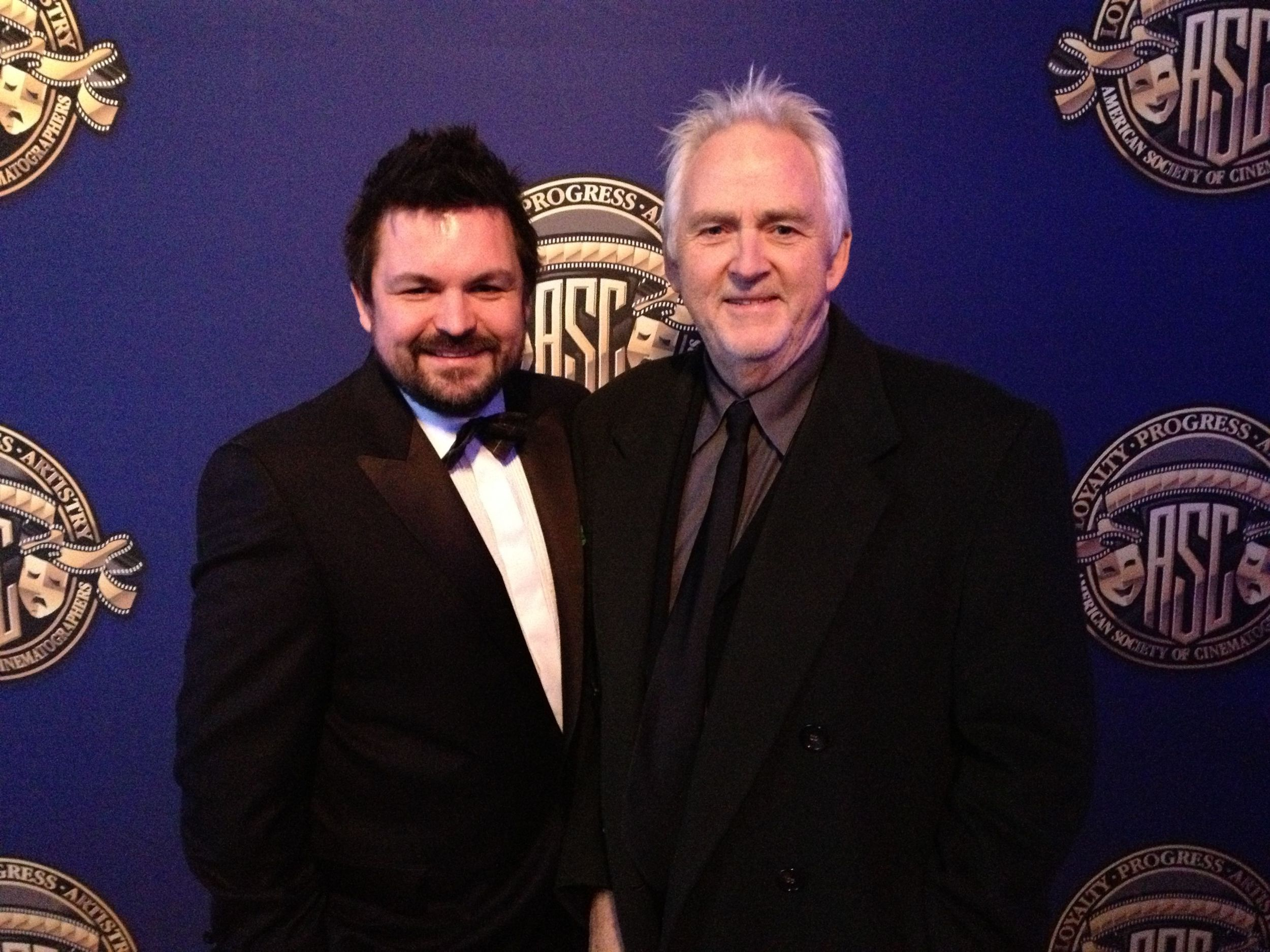 Den Lennie Attends the American Cinematographers Society Awards