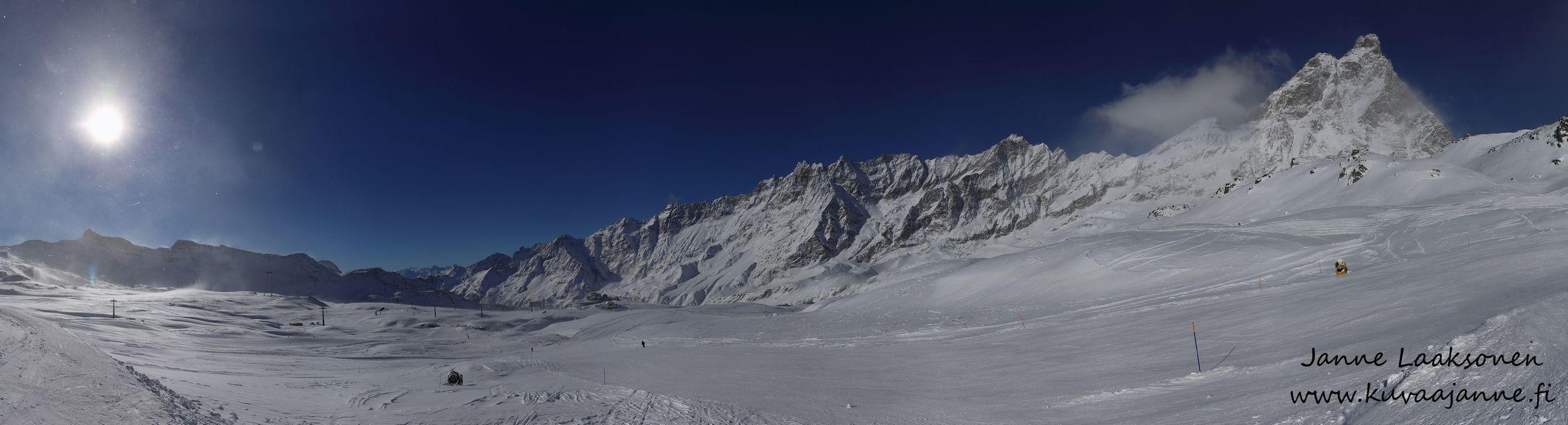 Cervinia, Matterhorn. Valokuvaaja Janne Laaksonen / KuvaaJanne Ky