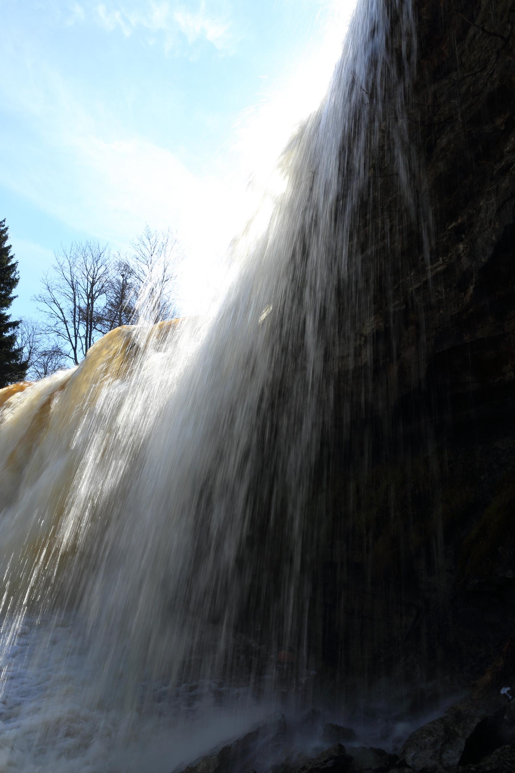 Keilan vesiputous, Viro