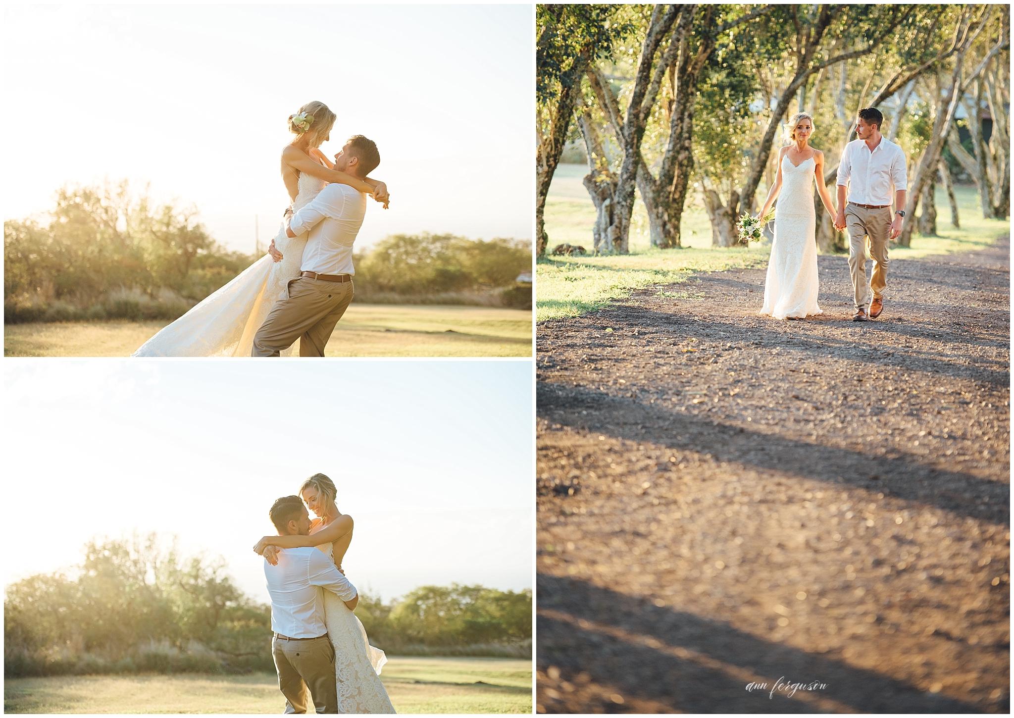 puakea sunset wedding